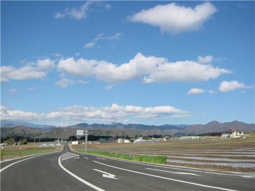 国道251号線付近からの眺め